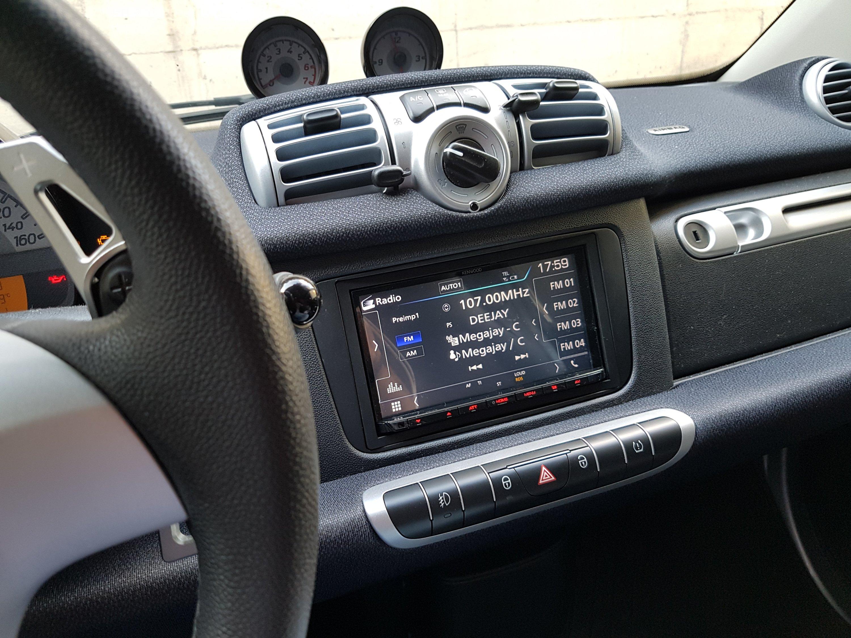 Schema Collegamento Autoradio Pioneer : Sostituzione autoradio sulla smart 451 u2013 notizie ed esperienze